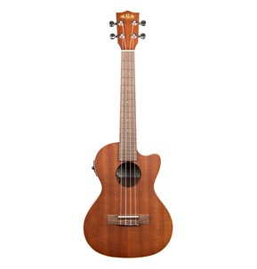 Kala KA-TE-C Satin Mahogany Tenor Electro Ukulele With Cutaway and EQ