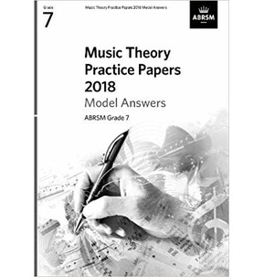 ABRSM Music Theory Model Answers 2018, Grade 7