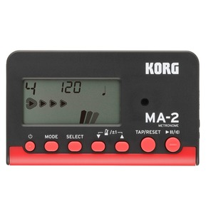 Korg MA-2 Multi-Function Digital Metronome In Black & Red