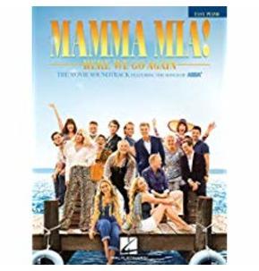 Mamma Mia! Here We Go Again - Easy Piano