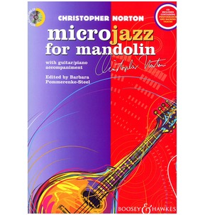 Microjazz for Mandolin by Christopher Norton with Guitar/Piano Accompaniment