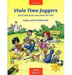 Viola Time Joggers - Book/CD