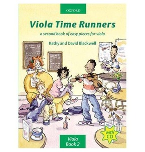 Viola Time Runners - Book/CD