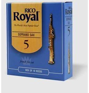 Rico Royal Soprano Saxophone Reed Box 10