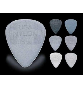 Dunlop Nylon Standard Guitar Picks - 12 Pack