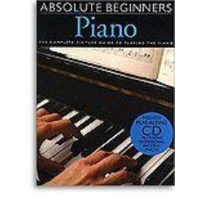 Absolute Beginners Piano Book/CD