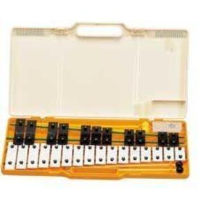 Angel 27 Note AX27K Glockenspiel with Case, Silver Note Bars