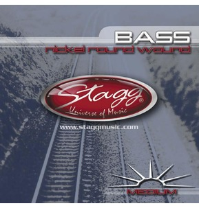 Stagg Bass Strings Roundwound Set Guages 45-105 - BA4505
