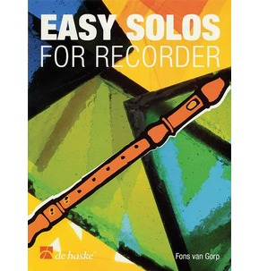 Easy Solos For Recorder - Book/CD