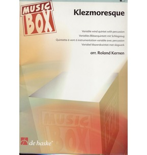 Klezmoresque - Wind Quintet - Grade 3