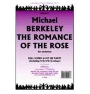 REDUCED - Berkeley - The Romance of the Rose - Orchestra