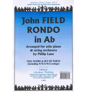 J. Field - Rondo in Ab Pack - Solo Piano & String Orchestra