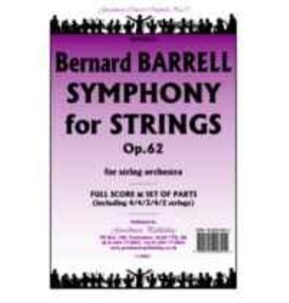 Barrell - Opus 62 Symphony For Strings