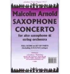 Arnold - Saxophone Concerto - Sax and String Orchestra