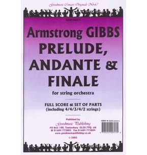 A. Gibbs - Prelude Andante & Finale - String Orchestra