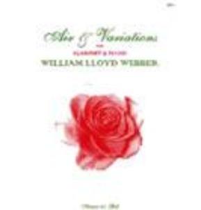 Lloyd Webber Air and Variations Clarinet and Piano