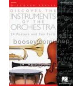 Discover Instruments of Orchestra Poster Pack