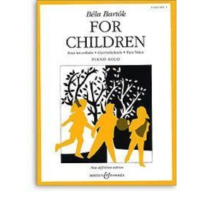 Bartok For Children Piano