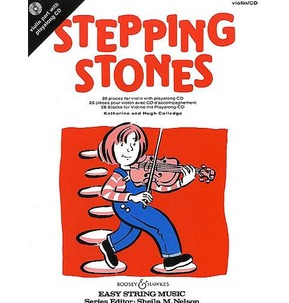 Stepping Stones Violin Part- Book/CD