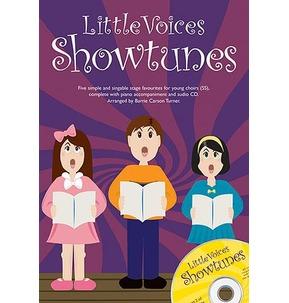 Little Voices Showtunes - 2-Part - Book/CD