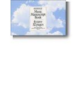 Woodstock Manuscript Paper Stiched 6  Stave 32 Page