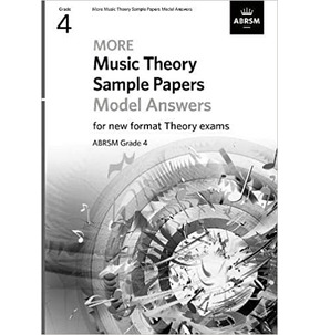 ABRSM Music Theory Sample Papers Model Answers - Grade 4 (2020)