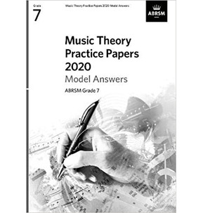 ABRSM Music Theroy Practice Papers Model Answers - Grade 7 (2020)