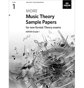 ABRSM More Music Theory Sample Papers - Grade 1 (2020)