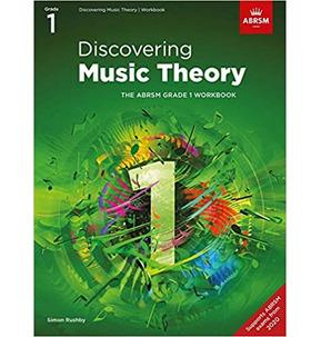 ABRSM: Discovering Music Theory Workbook Grade 1 - 2020+