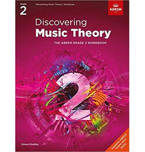 ABRSM: Discovering Music Theory Workbook Grade 2 - 2020+