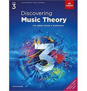 ABRSM: Discovering Music Theory Workbook Grade 3 - 2020+