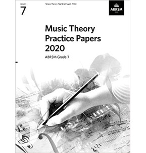 ABRSM Music Theory Practice Papers - Grade 7 (2020)