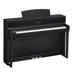 Yamaha CLP775 Digital Piano - Satin Black - 5 Year Warranty  (Subject to registering with Yamaha)