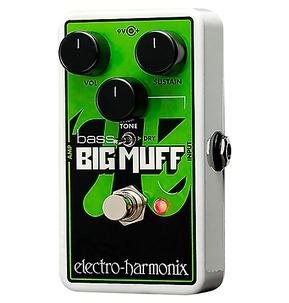 Electro Harmonix Nano Bass Big Muff Pi Fuzz Pedal