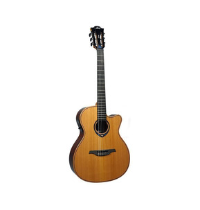 Lag Tramontane Hyvibe TNHV15ACE Electro Classical Nylon Smart Guitar