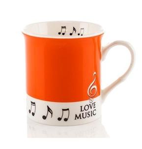 Colour Block Mug: Orange