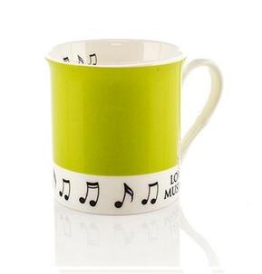 Colour Block Mug: Pea Green