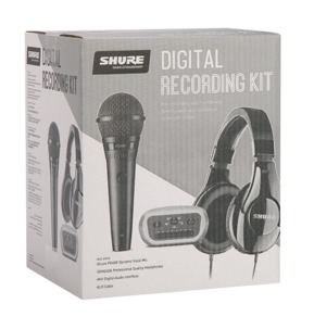 Shure Digital Recording Kit - PGA58 / SRH240A / MVi Interface / XLR Cable