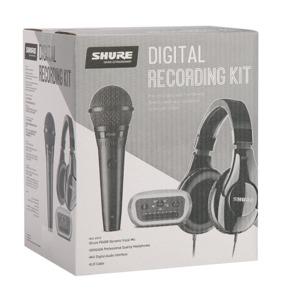 Shure Digital Recording Kit - PGA58 / SRH240A / MVi Interface / XLR Cable