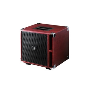 Phil Jones Bass Compact 4 C4 400 Watt Bass Extension Speaker Cabinet, Red