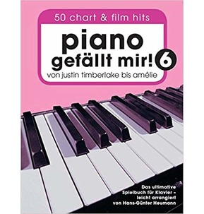 I Like Piano: 50 Chart and Film Hits from