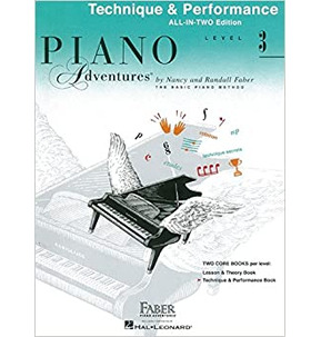 Piano Adventures All-In-Two Level 3 - Technique & Performance