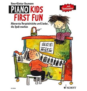 Piano Kids First Fun - First prelude and Song Making Fun