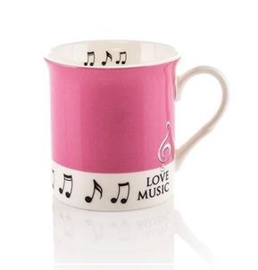 Colour Block Mug: Pink