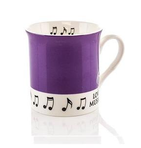 Colour Block Mug: Purple