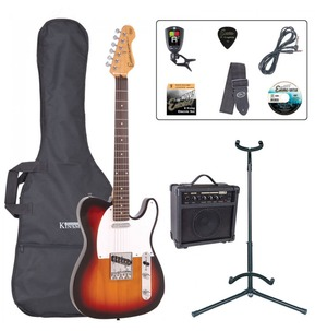 Encore E2 'T' Shape Electric Guitar Pack