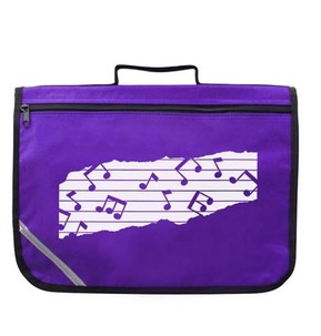 Mapac Music Bag with Shoulder Strap - Purple