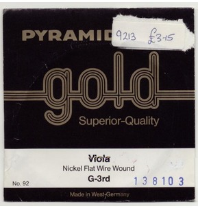 Pyramid Gold Chrome Viola G