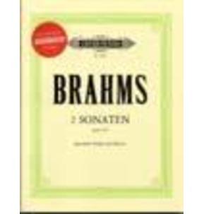 2 Sonatas Op/120 for Viola & Piano Book/CD Brahms