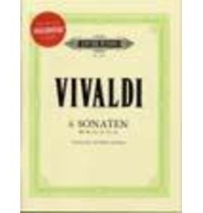 6 Cello Sonatas by Vivaldi Book/CD